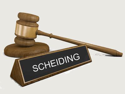 rechtbank scheiding